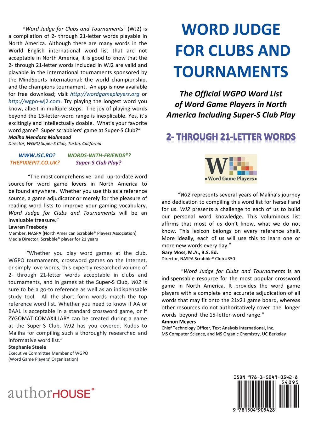Amazon Word Judge for Clubs and Tournaments The ficial