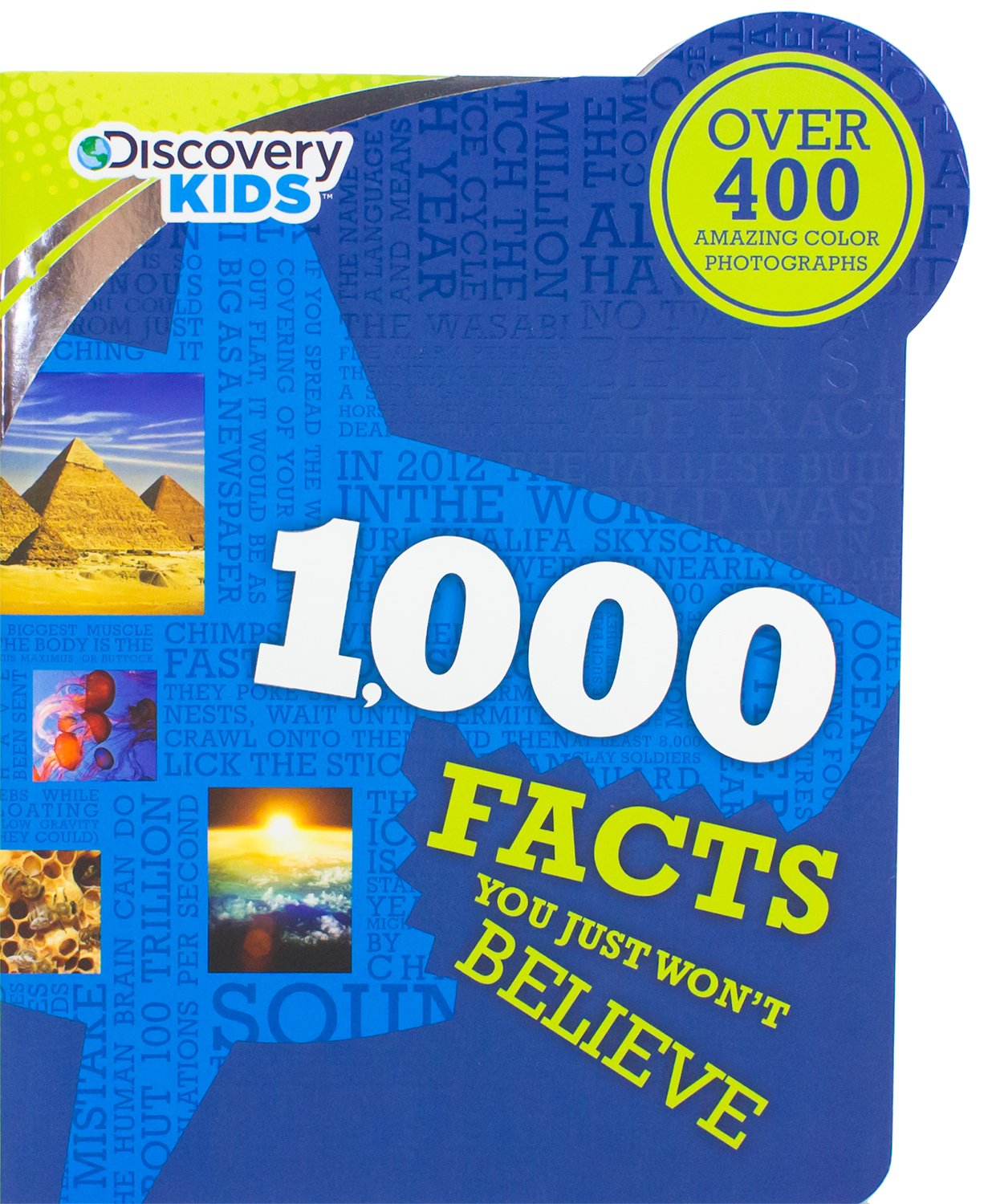 1, 000 Facts You Just Won't Believe (Discovery Kids): Parragon Books:  9781472311528: Amazon.com: Books
