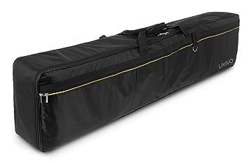 Fineway Funda de transporte acolchada para teclado eléctrico de 88 teclas, tela Oxford de 420 D, durable y resistente.: Amazon.es: Instrumentos musicales
