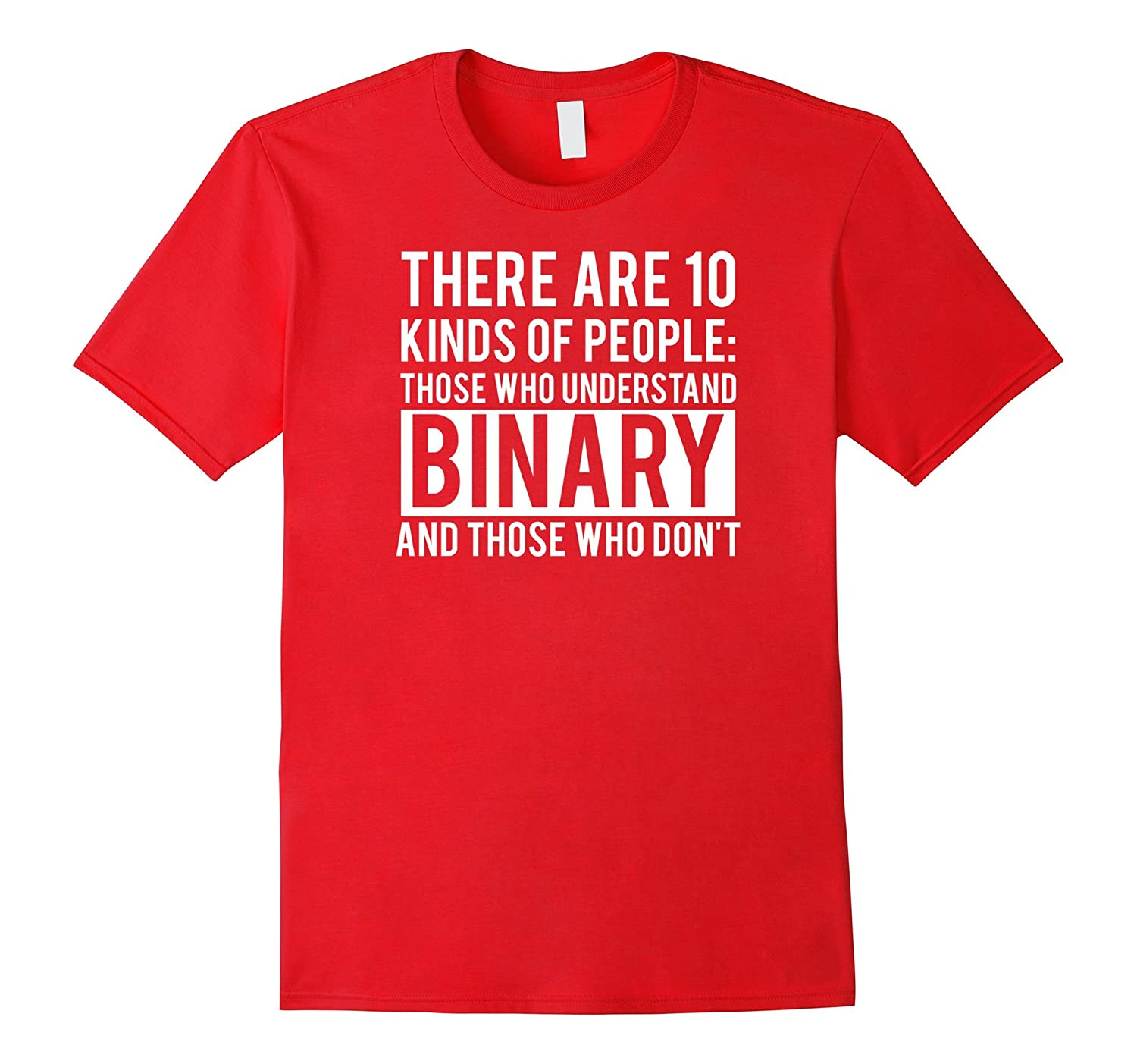 Binary Shirt Funny computer programmer-Awarplus