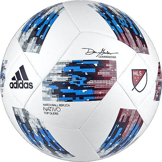 adidas Performance MLS - Balón de fútbol, Color Blanc y Azul ...