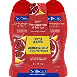 Softsoap Moisturizing Body Wash, Pomegranate and Mango, 591 mL (2 Pack)