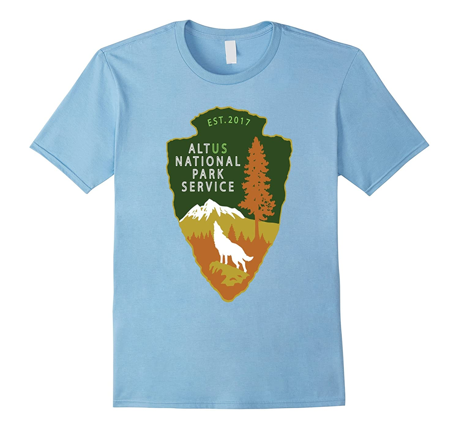 Alt Us Nationally Park Service 2017 Tshirt National Park Tee-TH