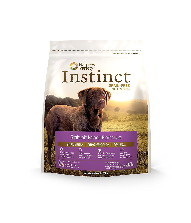 Amazon.com : Conejo de comidas en seco del alimento de perro ...