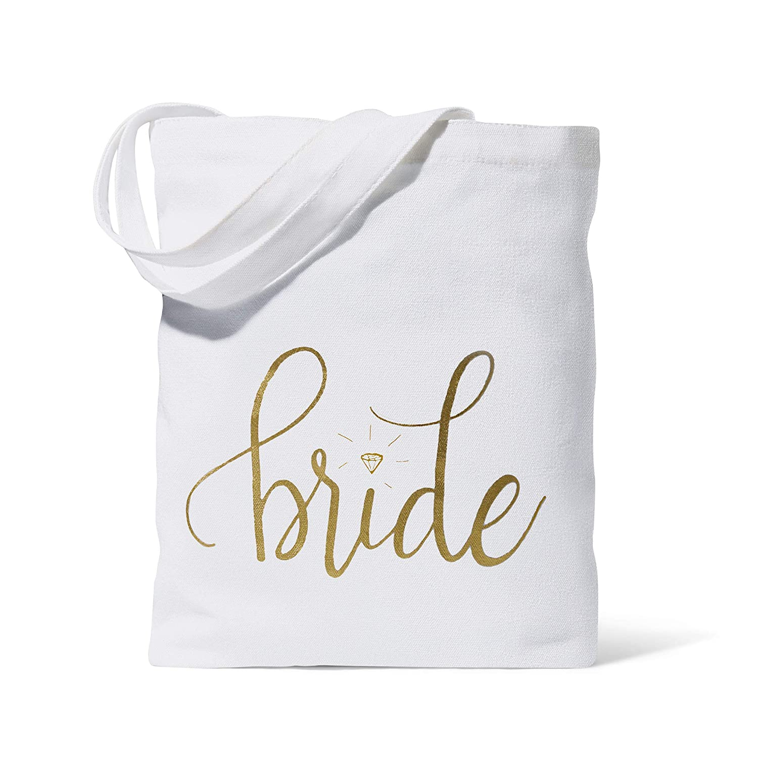 ddc48ee32d Amazon.com: 11 Piece Set of Pink Bride Tribe and Bride Canvas Beach Tote  Bags for Bachelorette Parties, Weddings and Bridal Showers!: Health &  Personal Care