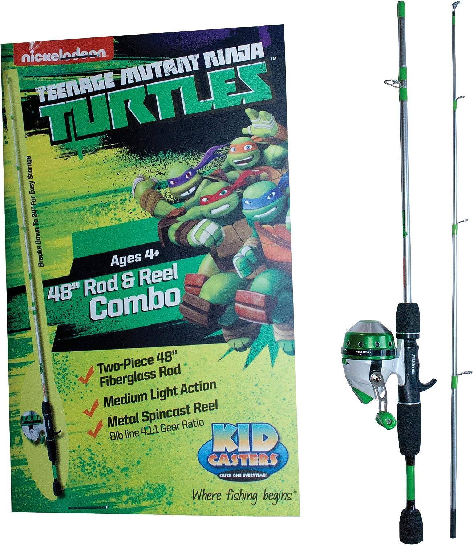 Amazon.com: Kid Casters Boys Teenage Mutant Ninja Turtle 48 ...