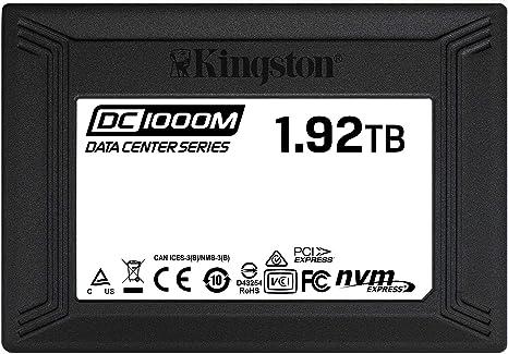 Kingston Data Center Dc1000m Interne Ssd 1 92 Tb Computer Zubehör