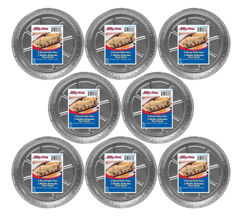 Amazon.com: Set of 24 Jiffy Foil Disposable Aluminum 8-1/2