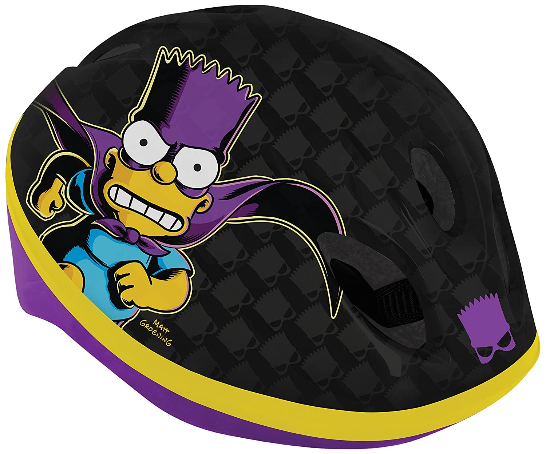 The Simpsons Bartman Safety Helmet   B00LB74EZ8