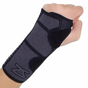 f873b7a3f7 Zensah Wrist Brace for Carpal Tunnel – Adjustable Wrist Support for  Arthritis, Wrist Tendonitis –
