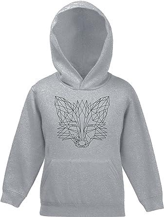 weltweit bekannt neuesten Stil suchen Fox Kinder Kids Kapuzen Hoodie - Pullover mit Polygon Fuchs ...