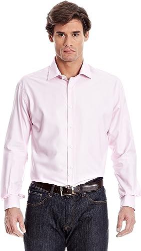 Milano Camisa Hombre John Rosa 40 cm (15.75