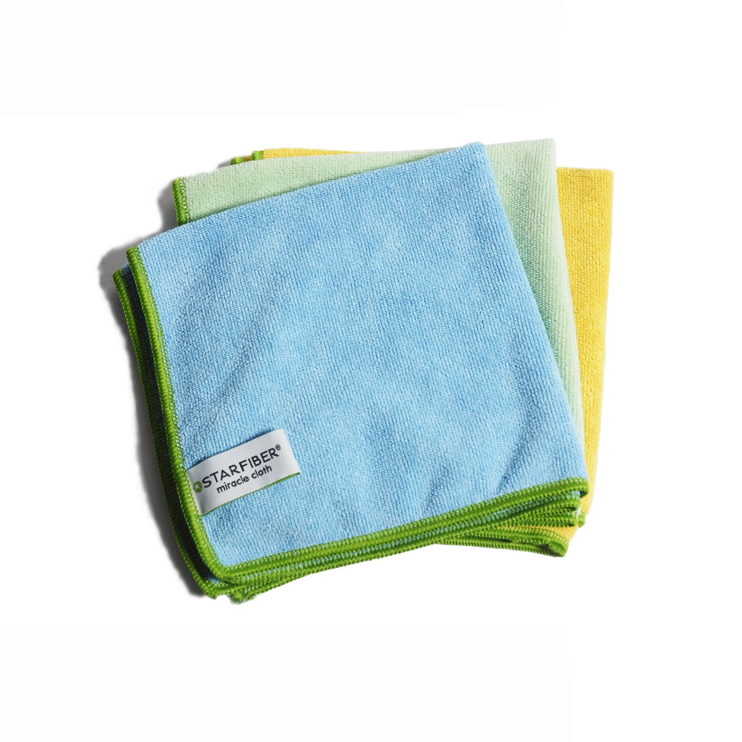 Amazon.com: Starfiber Microfiber Kitchen Scrubbies, 4-Pack: Health ...