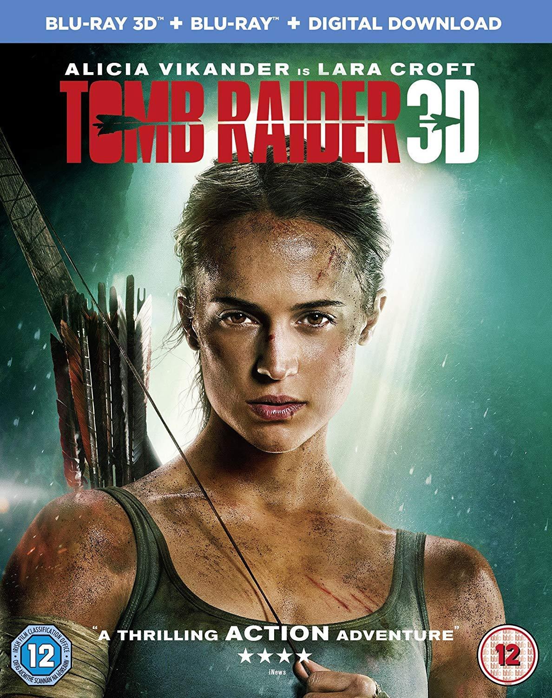 Amazon Com Tomb Raider Blu Ray 2018 Movies Tv