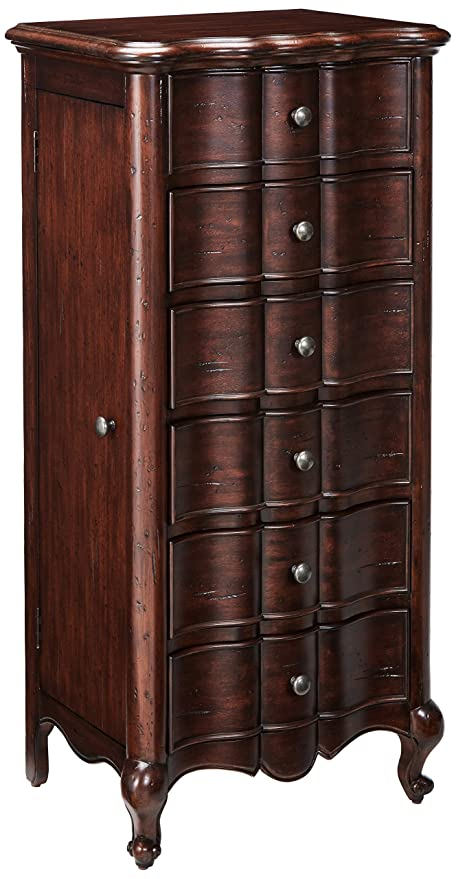 Hooker Furniture 500 50 757 French Jewelry Armoire, Mahogany Veneer
