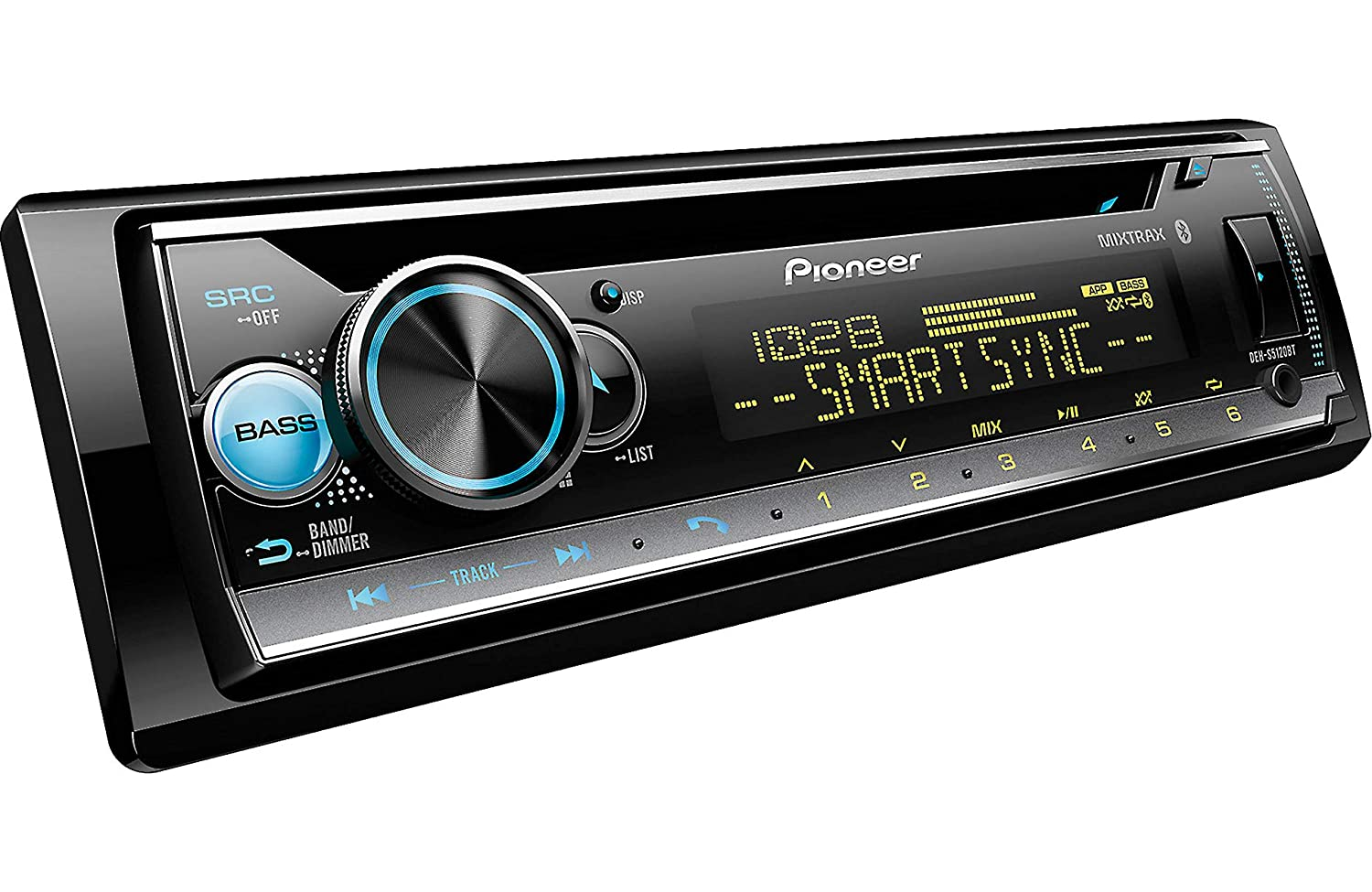 Pioneer DEH-S5120BT in-Dash Built-in Bluetooth CD, MP3, Front USB, Auxiliary, Pandora, AM FM, Built in iPod, iPhone and iPad Controls, ARC Phone app, Dual Phone Connection Stereo Receiver