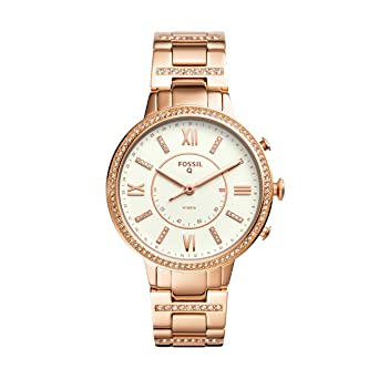 66a4a245ab6e Buy Fossil Hybrid Watch Analog White Dial Women s Watch - FTW5010 ...