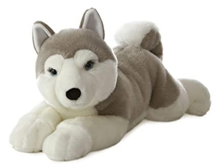 Aurora World Super Flopsie Yukon Husky Dog Plush, 27