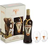 Amarula Cream 70cl + 2 Glasses