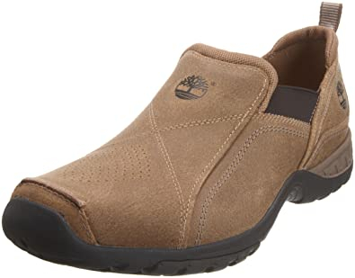 Timberland Front Slip On Taupe Slip On 57180 8 UK, Mocassins homme Taupe