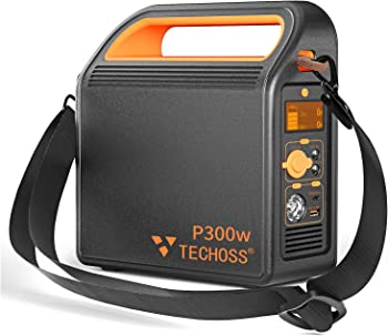 Techoss 80000mAh Solar Portable Power Station