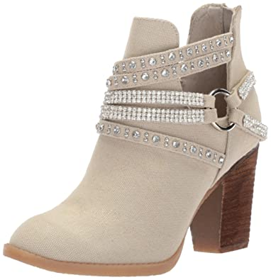 Not Rated Women's Elly Fashion Boot, Cream, ...