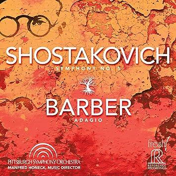 ショスタコーヴィチ : 交響曲第5番「革命」   バーバー : 弦楽のためのアダージョ / マンフレート・ホーネック   ピッツバーグ交響楽団 (Shostakovich : Symphony No.5   Barber : Adagio For Strings / Manfred Honeck) [SACD Hybrid] [Import] [日本語帯・解説付]