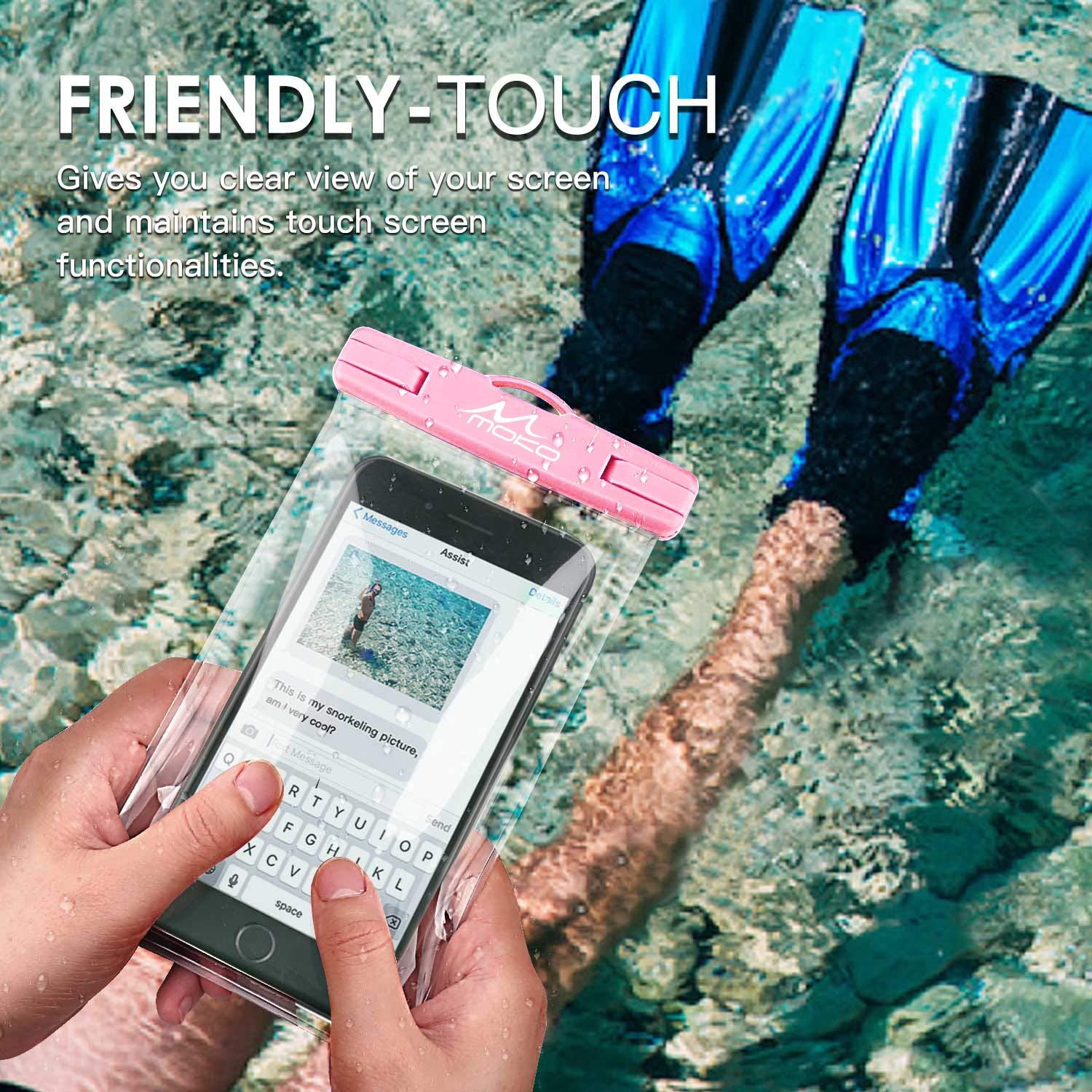 Underwater Waterproof Cellphone Case Dry Bag with Lanyard /& Armband Compatible with iPhone X//Xs//Xr//Xs Max MoKo Waterproof Phone Pouch 8//7//6s Plus Samsung S10//S9//S8 Plus 2 Pack S10 e Up to 6.5
