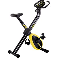 Movi Fitness Cyclette magnetica X-Compact, 81 x 43 x 113 cm Aperta - 43 x 44 x 130 cm Chiusa