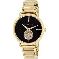Michael Kors Womens Quartz Watch, Analog Display and Stainless Steel Strap MK3788