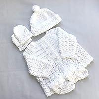 580e0228e286a Amazon Best Sellers: Best Handmade Baby Girls' Sweaters