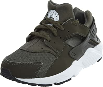 Amazon.com | Nike Kids Huarache Run PS Olive Green 704949-301 ...