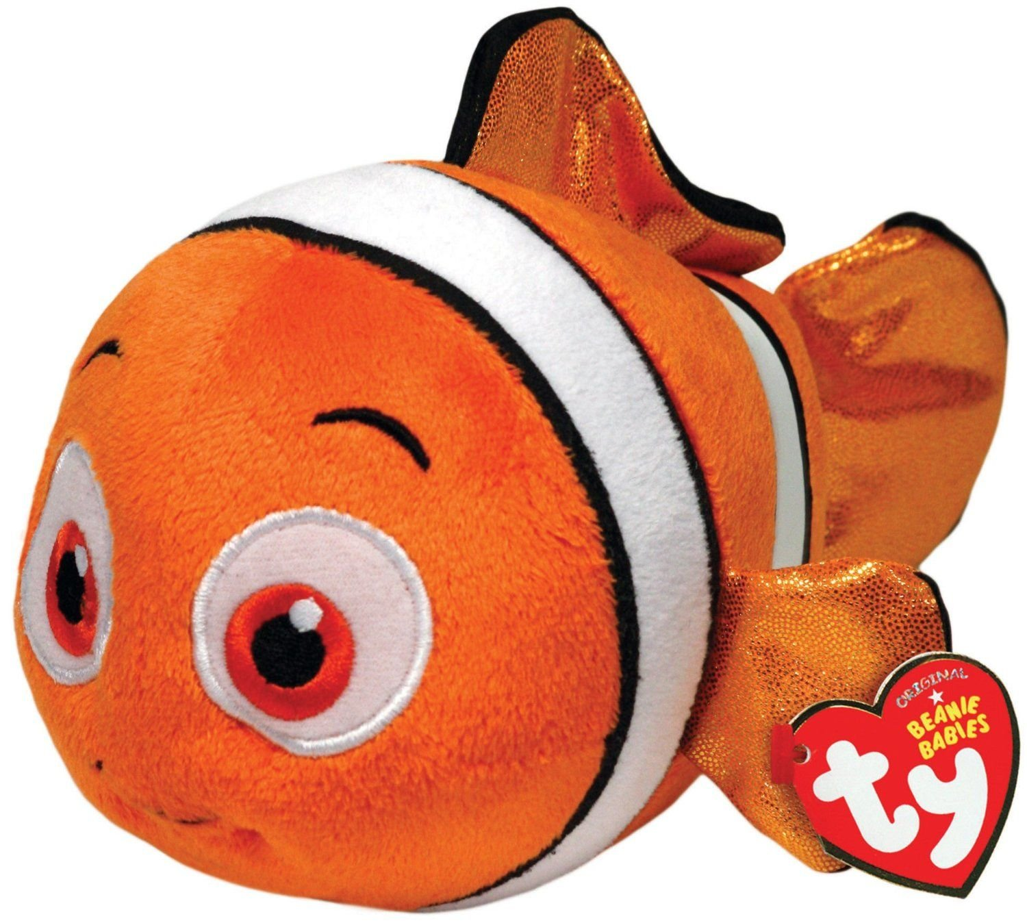 Amazon.com: Ty Beanie Babies Nemo Fish Sparkle Plush: Toys & Games