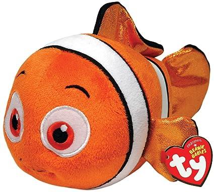 Ty Beanie Babies Nemo Fish Sparkle Plush
