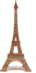 allgala Eiffel Tower Statue Decor Alloy Metal, and Size (10