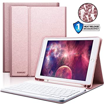 Amazon.com: Funda para teclado de iPad de 9,7 pulgadas con ...