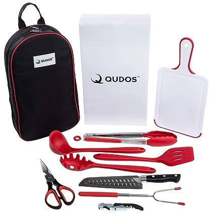 Amazon.com: Qudos – Organizador de utensilios de cocina y ...