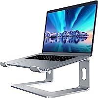 Soundance Aluminum Laptop Stand for Desk Compatible with Mac MacBook Pro Air Apple Notebook, Portable Holder Ergonomic…