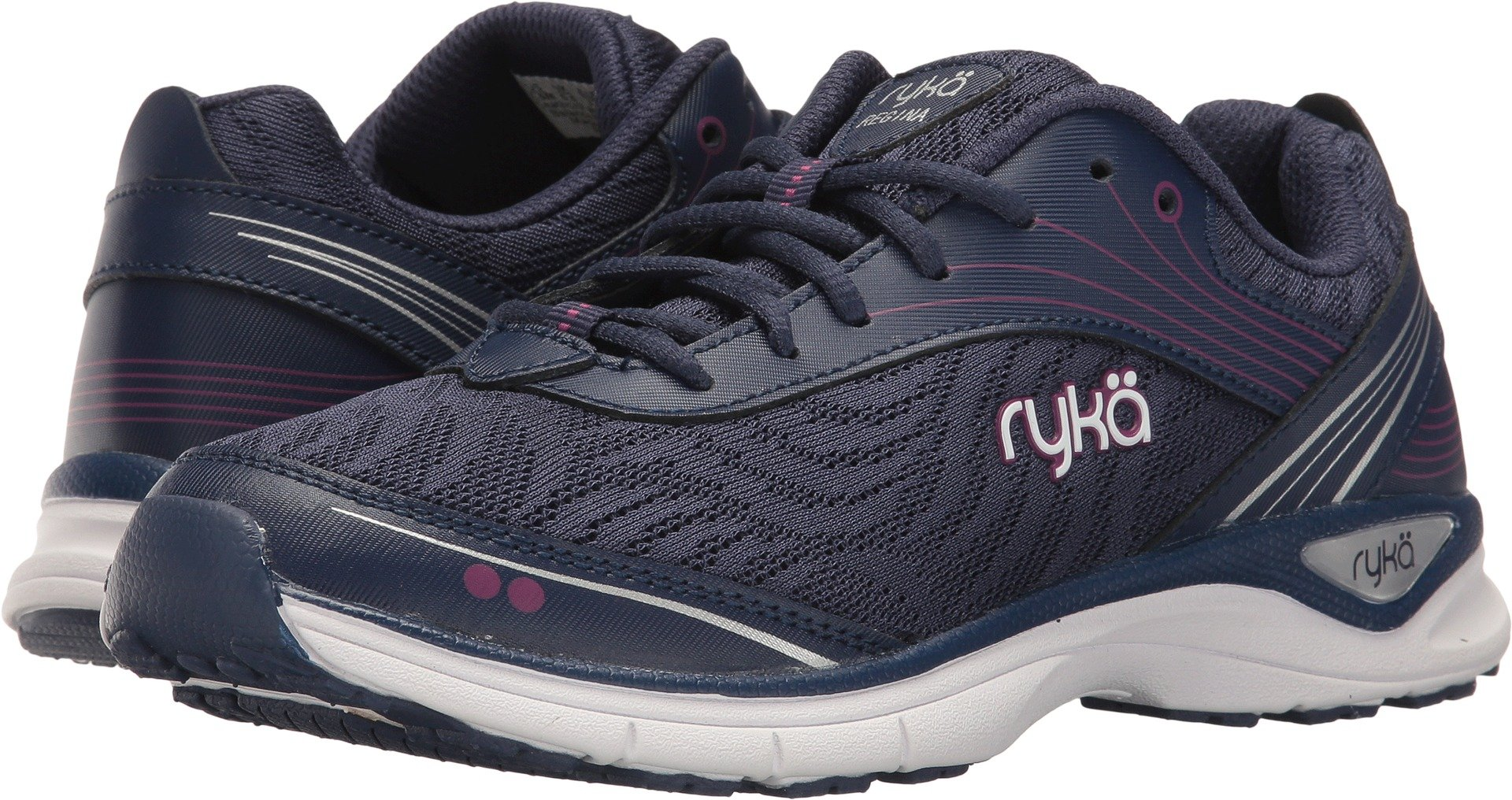 Ryka Women's Regina Blue/Purple/Silver 10 D US