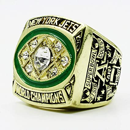 5063c2bbe Amazon.com   MVPRING Super Bowl 1966-2019 Ring (Size 11) (1968 New ...