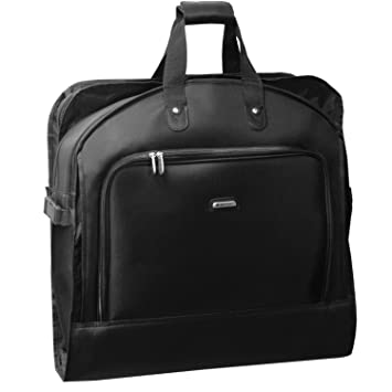 Image Unavailable. Image not available for. Color  WallyBags Luggage  45 quot  Bi-fold Garment Bag with Shoulder Strap ... 73d0a616c09e2
