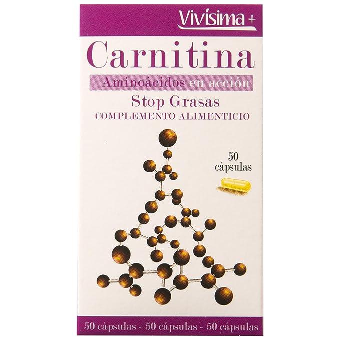 VIVISIMA+ - Carnitina Envase 50 Capsulas