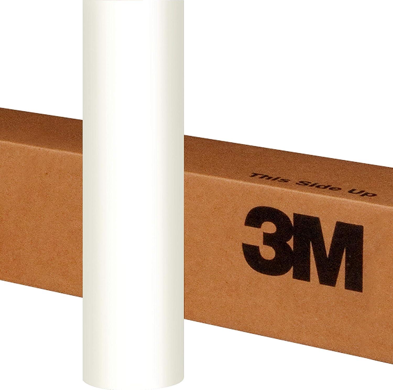 5 Sq//ft 3M 1080 S10 Satin White 5ft x 1ft Car Wrap Vinyl Film