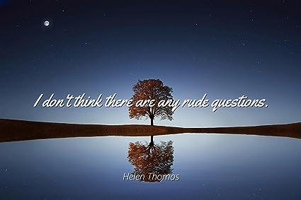 Amazoncom Helen Thomas Famous Quotes Laminated Poster Print