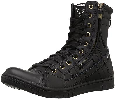 343c44a7d6b Diesel Men's Tatradium D-VALADIUM Fashion Boot Black 7 M US