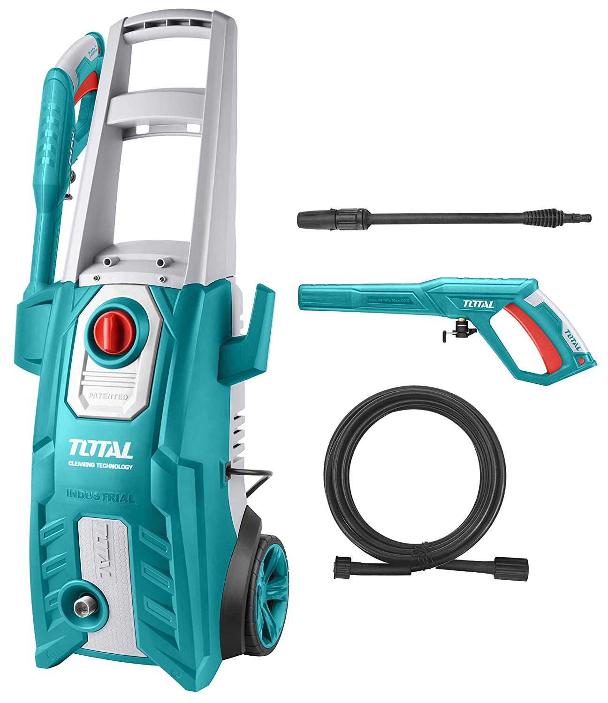 MR LIGHT TOTAL 2000-W High Pressure Washer 150 Bar (2200PSI, Blue)