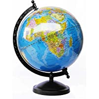 Globeskart Educational Laminated Rotating World Globe With Metal
