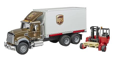 Bruder spielwaren gmbh co kg camion mack granite bruder comm ups