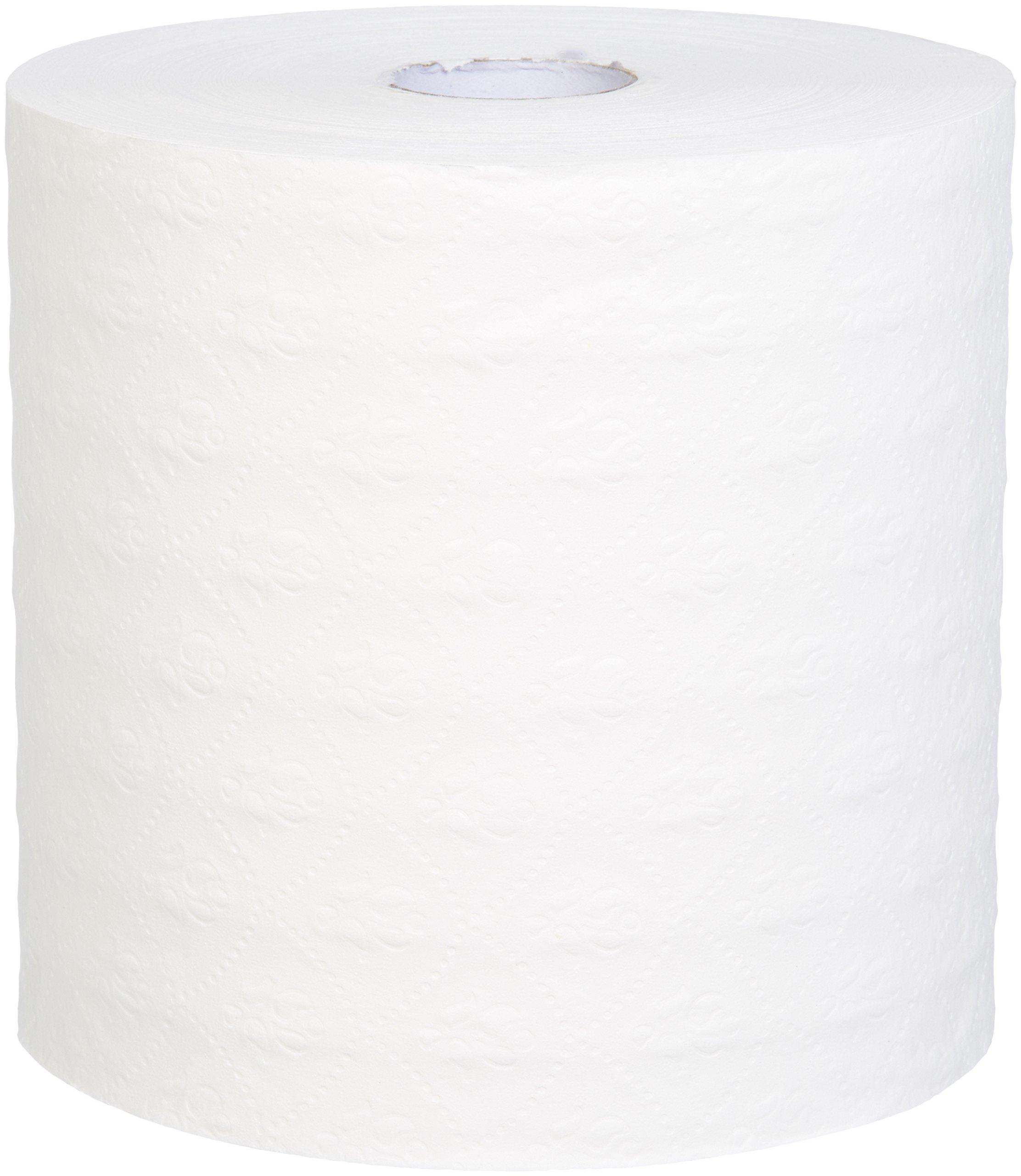 AmazonBasics Professional Hard Roll Towels, White, 950 Feet per Roll, 6 Rolls