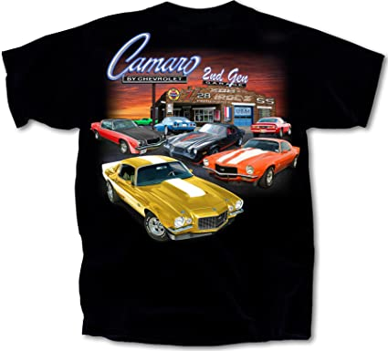 Chevy Camaro 1967 Through The Years Classic Adult T-Shirt